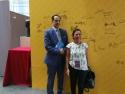 Dr. Antonella Fresa and Dr. Franco Amadei