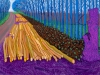 """WINTER TIMBER"" 2009 OIL ON 15 CANVASES (36 X 48"" EACH) 108 X 240"" © DAVID HOCKNEY PHOTO CREDIT: JONATHAN WILKINSON"