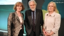 l-r Ms. Annette Kelly, Head of Libraries Development, LGMA; Lord Puttnam, Digital Ambassador for Ireland; Ms. Margaret Hayes, Dublin City Librarian