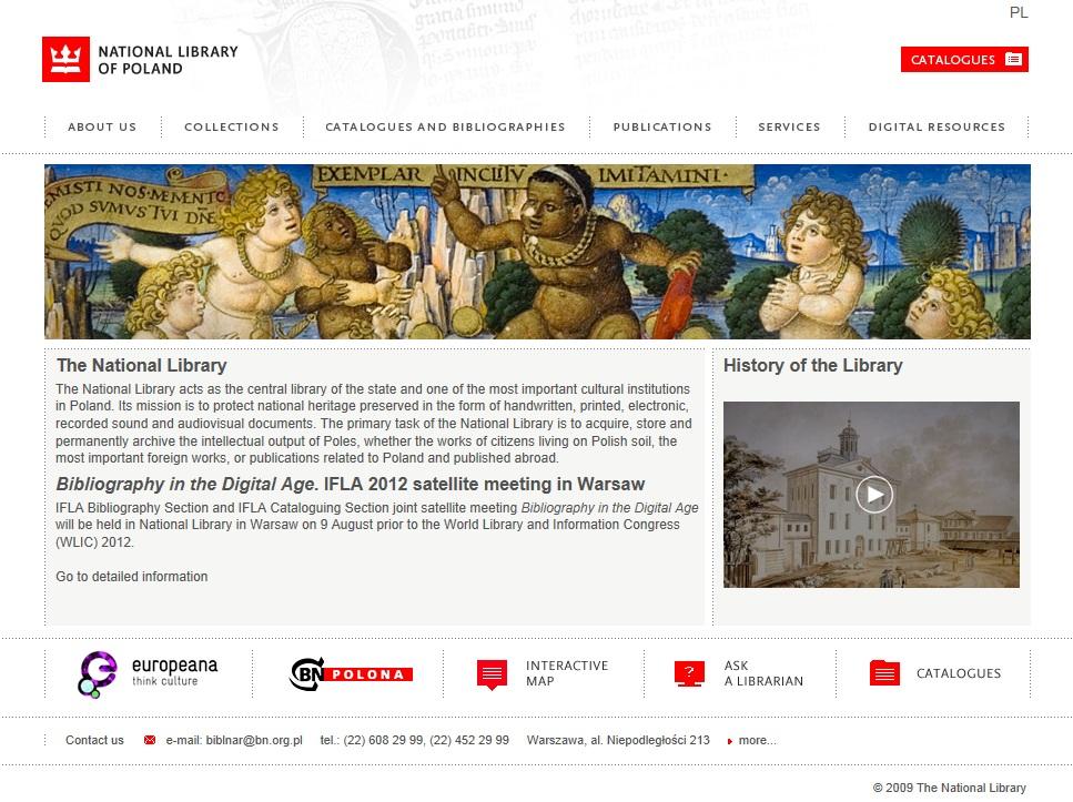 "IFLA satellite meeting ""Bibliography in the digital age""   Digital"