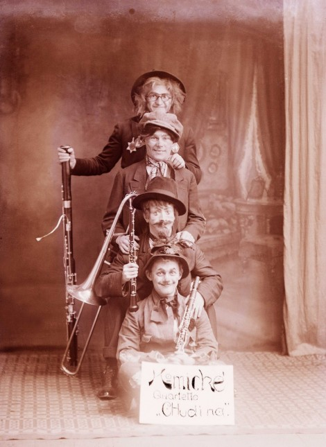 Comic quartett Poverty. 2nd half of the 19. century ©Divadelný ústavTheatre Institute Bratislava