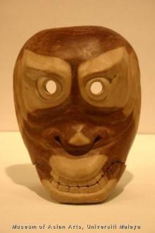 Nyirih-Batu mask (courtesy of Dr. Faridah Mohd Noor)
