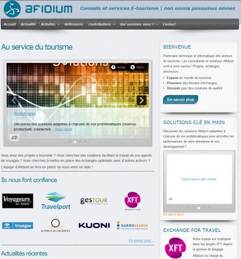 Afidium Website