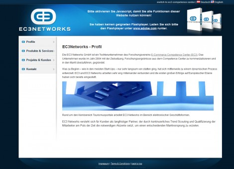 EC3 Website