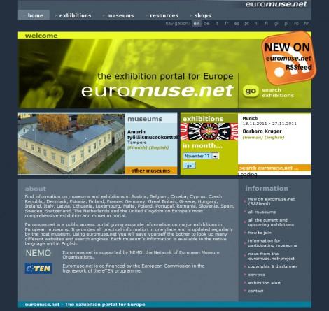 euromuse.net Portal