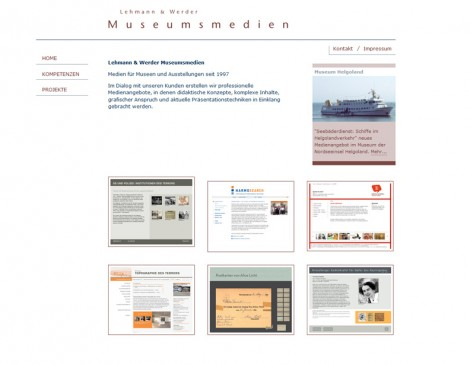 Museumsmedien Website