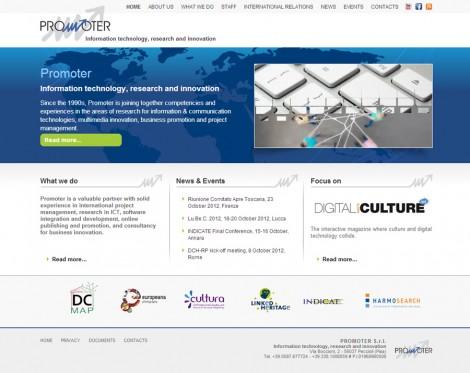 Promoter Website