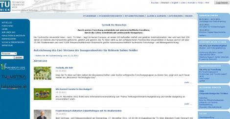 Tu-Wien Website