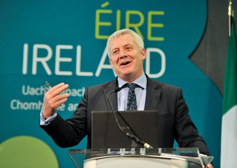 Mr. Fergus O'Dowd, T.D., Minister of State, Department of the Environment, Community and Local Government