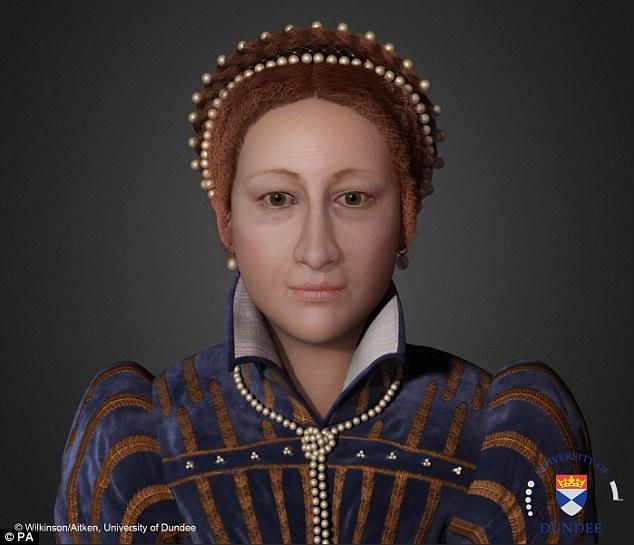 mary queen of scots a virtual sculpture digital meets culture