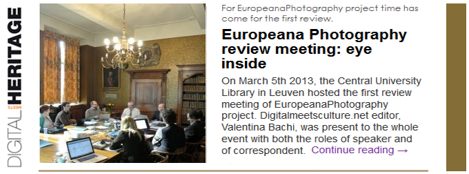 Europeana Photography review meeting: eye inside