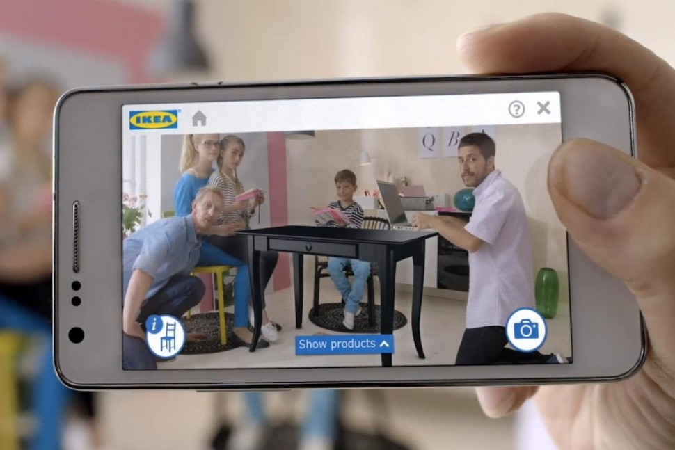 ikea launches augmented reality app lets you preview digital furniture in your physical house. Black Bedroom Furniture Sets. Home Design Ideas