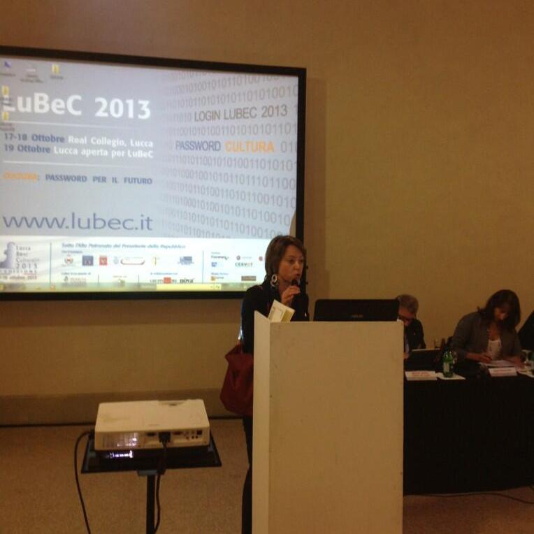 "Francesca Velani, Promo PA vice-president, introduces the workshop ""Città Accessibili per tutti"""