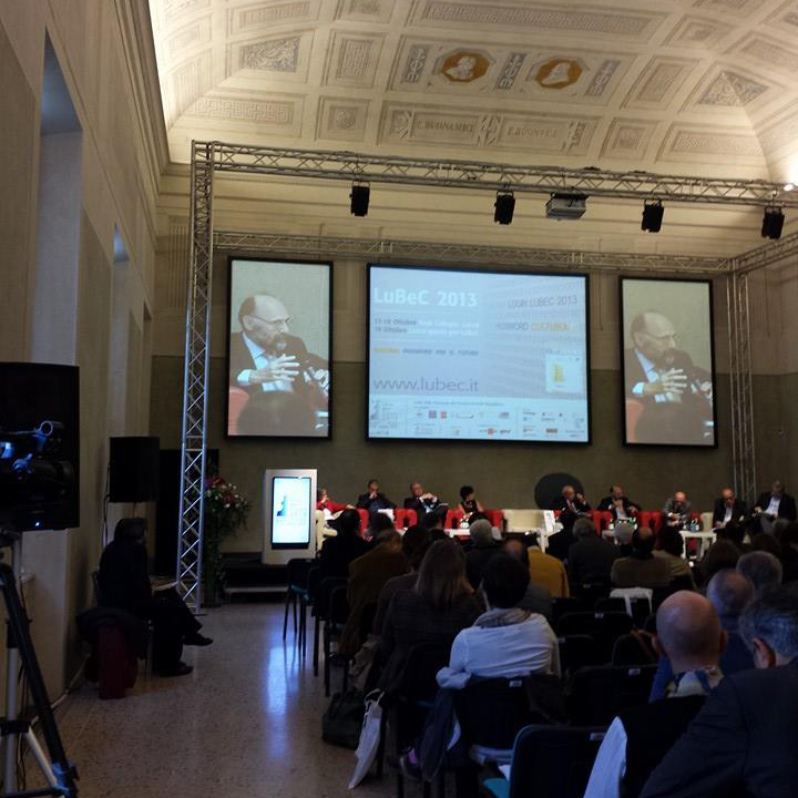 "During the conference on ""CULTURAL HERITAGE BETWEEN ""PUBLIC AND PRIVATE"": NEW NATIONAL AND EUROPEAN GOVERNACE OPPORTUNITIES"""