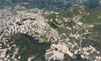 Antinori, Plastico Virtuale della città di Massa