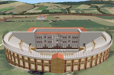 Antinori, Ricostruzione 3D del territorio Romano di Urbs Salvia