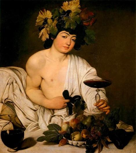 Bacco, Caravaggio (1597)