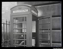 kiosk telephone 1953