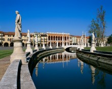 Statues Along the Canal in Prato Della Valle