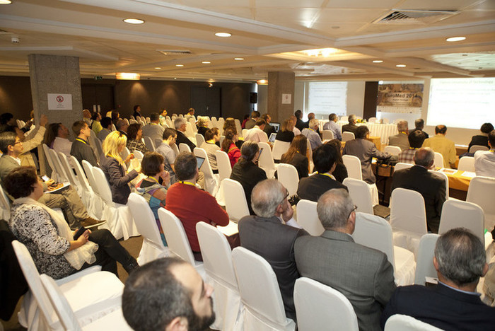 The audience of Euromed 2014 congress