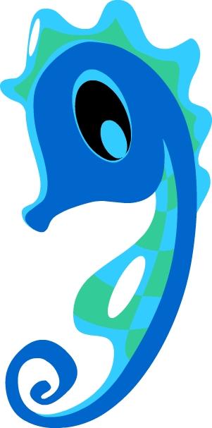 IAM mascot - Blue