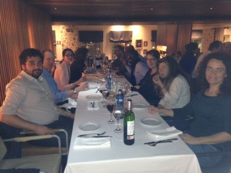 The RICHES Partners's social dinner