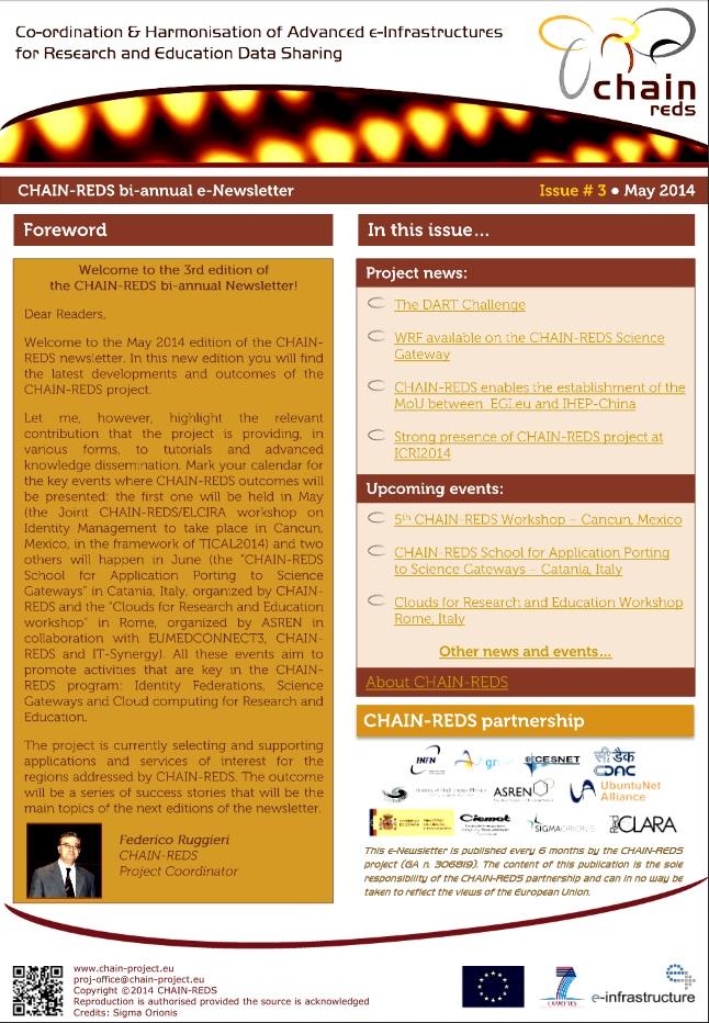 CHAIN-REDS bi-annual e-Newsletter | Digital meets Culture