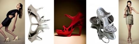 Pauline van Dongen 3D Printed High Heels
