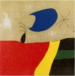 The smile of a tear, Joan Miro, 1973