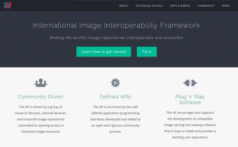 IIIF website