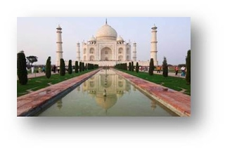 The Taj Mahal (Agra, India)