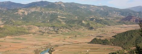 Vjosa valley (Albania)