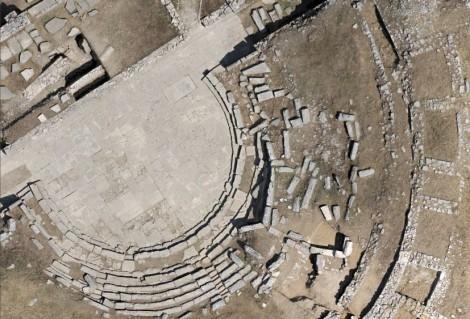 1cm ortho-photo, theatre© photo: GeoInformatiX, DroneSense & Università di Macerata