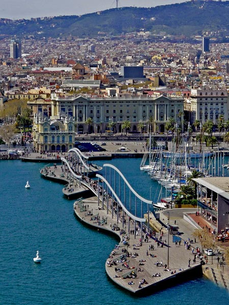 Barcelona, la Rambla del Mar