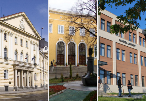 "The founders of the National Academic Library and Information System Foundation (NALIS Foundation): the Central Library of BAS (CL-BAS), the Sofia University ""St. Kliment Ohridski"" (SU) and the American University in Bulgaria (AUBG)."