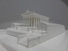 Cryptoporticus of Urbs Salvia, 3D plastic model
