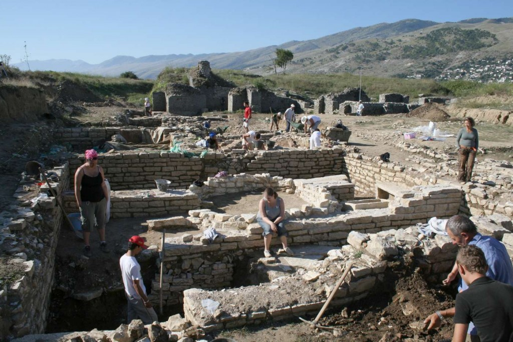 Albania, the Hadrianopolis excavation
