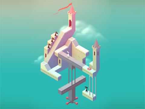 Monument Valley, AppCafé, 2014