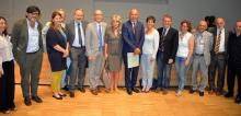 Representatives of the signatory institutions
