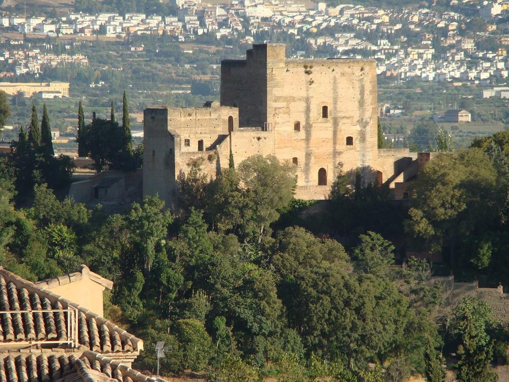 Castillo del Mauror, también llamado Torres Bermejas, Granada
