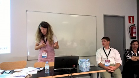 Sarah Whatley, from Coventry University, is the EUROPEANA SPACE Project Coordinator.