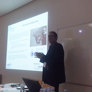 Fred Truyen, from KU Leuven, presented the PHOTOCONSORTIUM International Association.