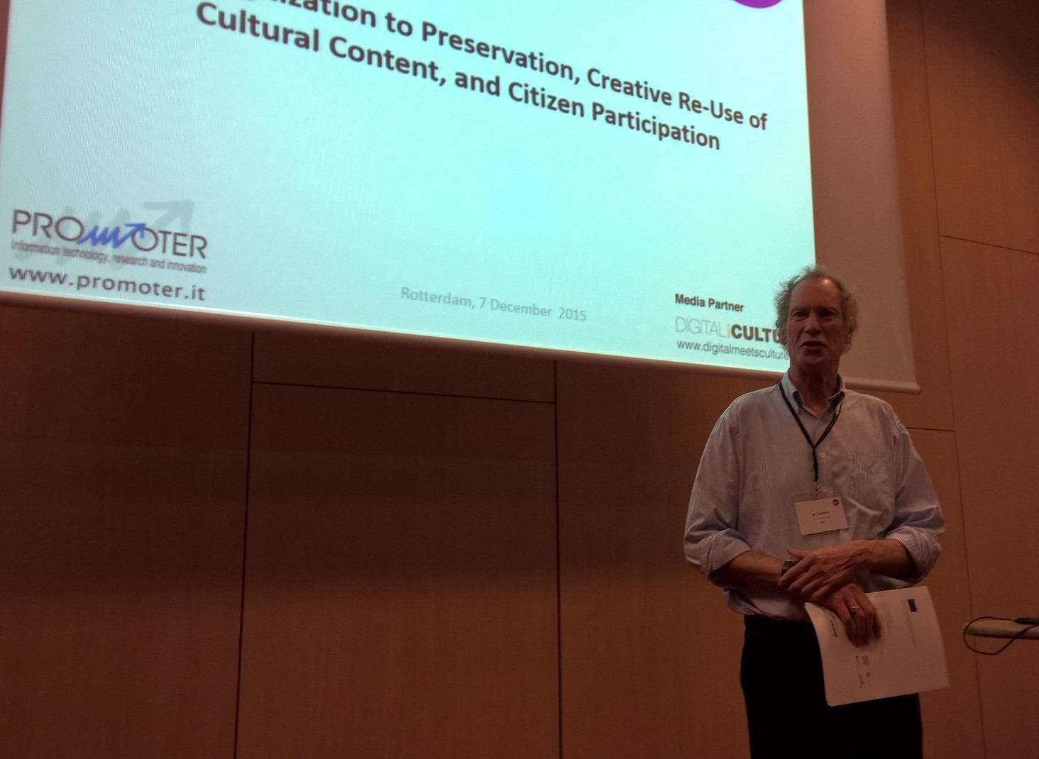 Neil Forbes, from Coventry University, presented CIVIC EPISTEMOLOGIES @ DISH2015, Rotterdam 7 December 2015