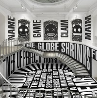 "Barbara Kruger, ""Untitled (SmashUp)"" (2016), site-specific installation at the Vancouver Art Gallery (photo by Rachel Topham, Vancouver Art Gallery)"