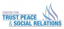 Trust, Peace and Social Relations Logo