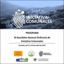 Carátula III AGO Granada 2018