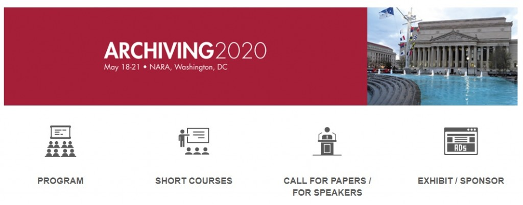 Washington Dc Events May 2020.Archiving 2020 Digital Meets Culture
