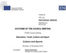 outcame European Council