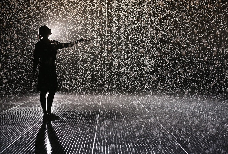 Rain Room\' at London\'s Barbican | Digital meets Culture