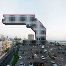 Focusing On Urban Landscapes This Artist Takes A Particular Structure Such As Whole Building Or Staircase And Uses Computer Design Software To Alter The